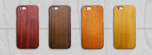 Natural Real Wood Engraving Wooden Phone Case pictures & photos