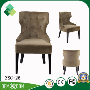 Royal Style of Beech Wingback Chair for Dining Room (ZSC-26) pictures & photos