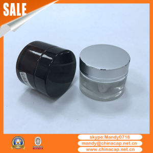 Silver Aluminum Cream Jar for Cosmetic Packaging pictures & photos