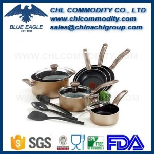 Food Grade Portable Titanium Cookware Set for Outdoor Camping pictures & photos
