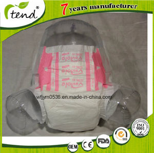 OEM Hospital Disposable Printed Adult Diaper Pink pictures & photos