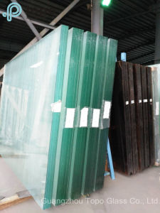 Colored Pink Tinted Float Sheet Glass for Buliding (C-P) pictures & photos