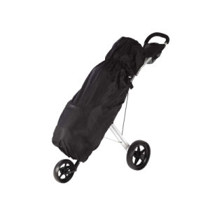 Black Nylon Golf Bag Rain Cover pictures & photos