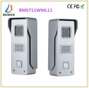 7 Inches Intercom Home Security Doorbell Video Doorphone Interphone with Camera pictures & photos