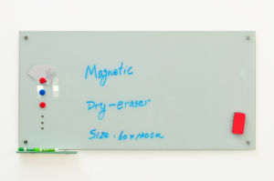 Office Supply School Supply Magnetic Glass Whiteboard with Ce, En71, SGS Approved pictures & photos