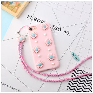 Pink Cute Design TPU Phone Case for iPhone 7 Plus pictures & photos