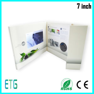7 Inch HD/IPS Screen Video LCD Advertising Greeting Card pictures & photos