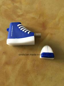 Custom USB Flash Drive 8GB Promotional USB3.0 Rubber PVC 3D Shoes Shape USB Stick pictures & photos