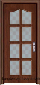 New 6mm Modle PVC Door with Glass (PVC glass door) pictures & photos