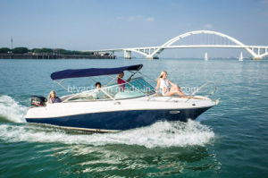 22′ Fiberglass Sporty Leisure Race Boat Hangtong Factory-Direct pictures & photos