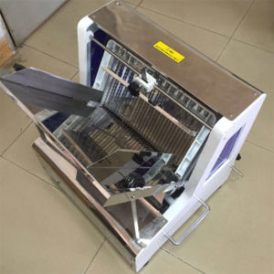 Bakery Slicer Machine Bread Cutting Machine Table Top Bread Slicer Equipment pictures & photos