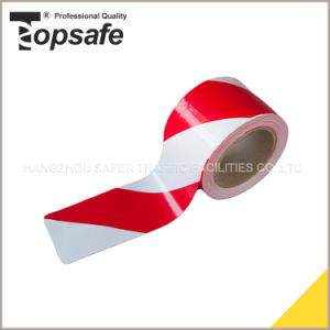 White /Red Black Barricade Warning Tape pictures & photos