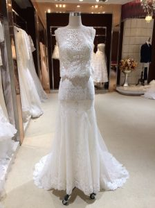 Mermaid Trumpet off White Wedding Dress pictures & photos