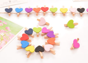 Wooden Magnet Clip & Wooden Clip with Magnet pictures & photos