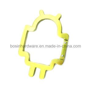 Fashion Android Shaped Aluminum Carabiner pictures & photos