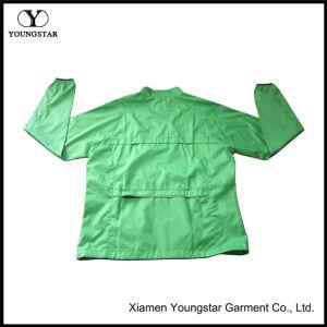 Zip up Green Mens Lightweight Thin Windbreaker Jackets pictures & photos
