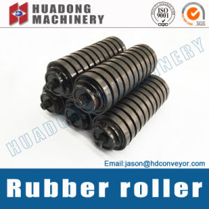 Mass Buffer Rubber Roller for Large Scale Material Handling System pictures & photos