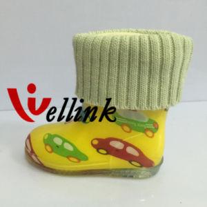 Kids Fashion Style High Quality Rubber Rainboots