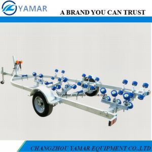 6.8m Boat Trailer with Rubber Rollers pictures & photos