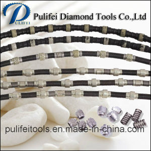 Diamond Hand Wire Saw for Stone Quarrying Granite Block Cutting pictures & photos