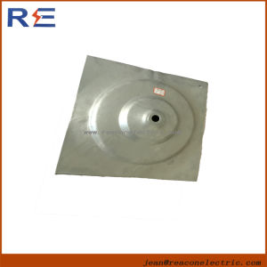 Galvanized Cross-Plate Anchor (Hubcap) for Pole Line Hardware pictures & photos