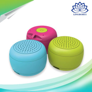 Mini Size High Sound Quality Built-in Microphone Wireless Speaker Box with Slef-Timer pictures & photos
