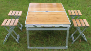 Picnic Set 5PCS, Picnic Table and Chair, Folded Table and Chair pictures & photos
