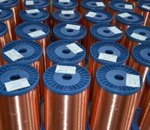 Pure Copper Enameled Wire Supplier pictures & photos