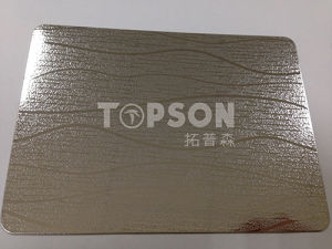 201 304 316 Embossed Stainless Steel Color Plate for Project Low Price pictures & photos