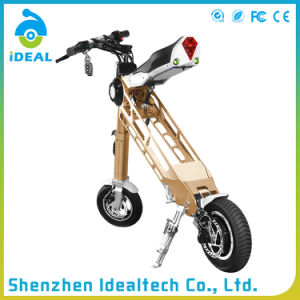 Aluminum Alloy 910mm Wheelbase Electric Mobility Folded Scooter pictures & photos