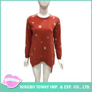 Long Winter Ladies Designer Chunky Cashmere Cardigan Fine Knit Sweater pictures & photos