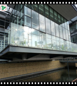 3mm-19mm Clear Float Tempered Building Glass with Ce/ISO9001 pictures & photos