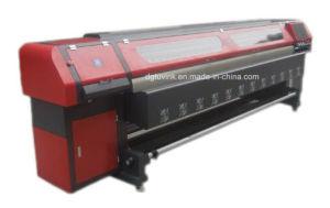 3.2m 4PCS 512I Konica Head Solvent Printer Flex Banner /Vinyl /Sticker Indoor Outdoor Printing Machine pictures & photos