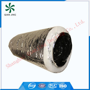 White Polyester Acoustic Insulated Flexible Duct pictures & photos