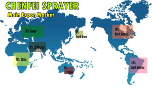 Black Fine Mist Sprayer with Cover pictures & photos