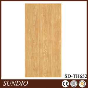 Modern Non-Slip 4.8mm Thick Rustic Brick Wood Grain Look Ceramic Floor Tiles pictures & photos