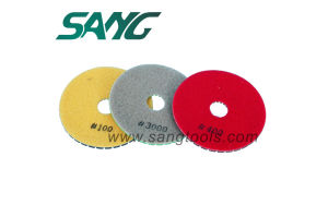 Diamodn Dry Polishing Pads for Marble Granite Stone Polishong 3 Steps pictures & photos