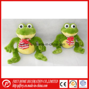 Cute Green Plush Toy of Soft Frog for Baby pictures & photos
