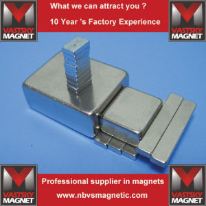 N35 N52 Permanent Neodymium Flat Block NdFeB Magnet pictures & photos
