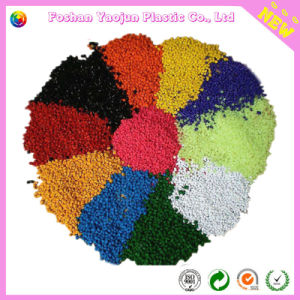 Yellow Masterbatch for Plastic Film Making pictures & photos