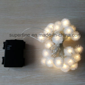 Outdoor Wedding and Holiday LED Snowflake String Light with PVC Rose Decoration pictures & photos