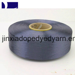Dope Dyed Polyester Yarn FDY 150d/144f Super Fine Denier Filamanet Yarn pictures & photos