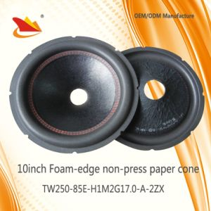 2017 New Produces 8inch Foam-Edge Paper Cone-Subwoofer Cone pictures & photos