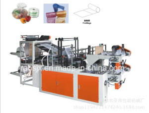 Continious Rewind Roll Shopping Bag Sealing Machine pictures & photos