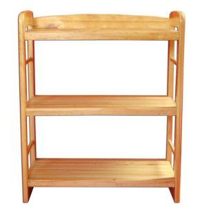 Chinese Fir Kitchen Storage Shelf Rack