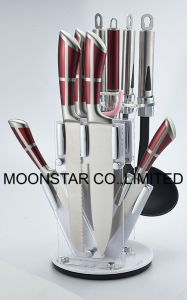 11PCS Stainless Steel Knife Set pictures & photos