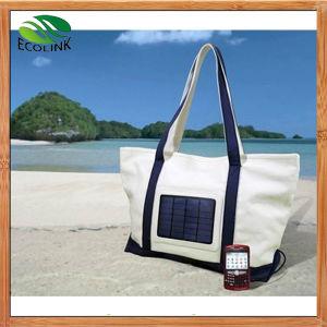 Lastest Design Women ′s Solar Charger Canvas Handbag pictures & photos