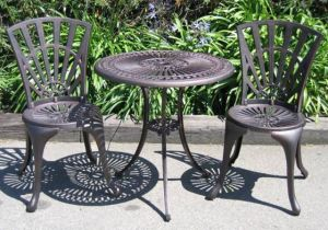 China garden furniture cast iron yj5022 china garden Cast iron garden furniture