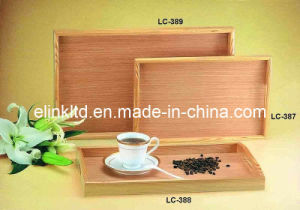 Tray for Bamboo/Food/Fruit/Daily Use/Hotel/Restaurant/Tea Sets/Tableware/Homeware/Coffee Sets (LC-387)