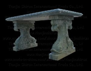 Stone Fish Carving Table, Bench, Chair (7788) pictures & photos